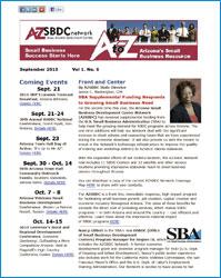 AZSBDC - Newsletter