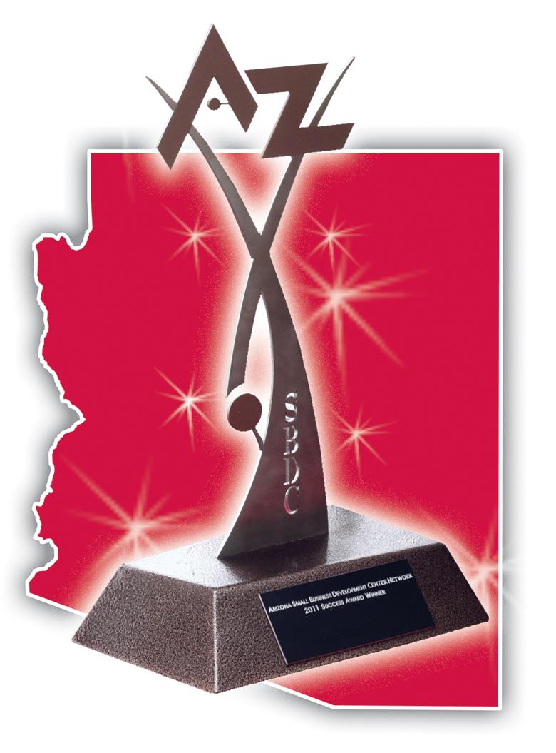 Success Awards Show Statewide Strength Azsbdc