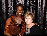 Janice C. Washington, CPA, AZSBDC State Director (left) and Ellen Kirton, Pima & Santa Cruz SBDC Center Director (right)